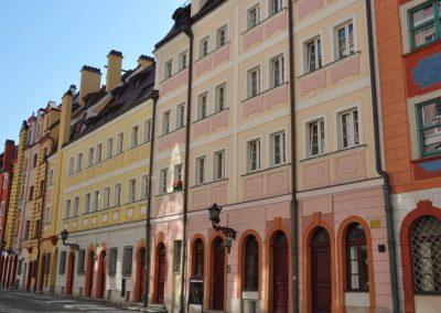 Kamienica, fasada budynku